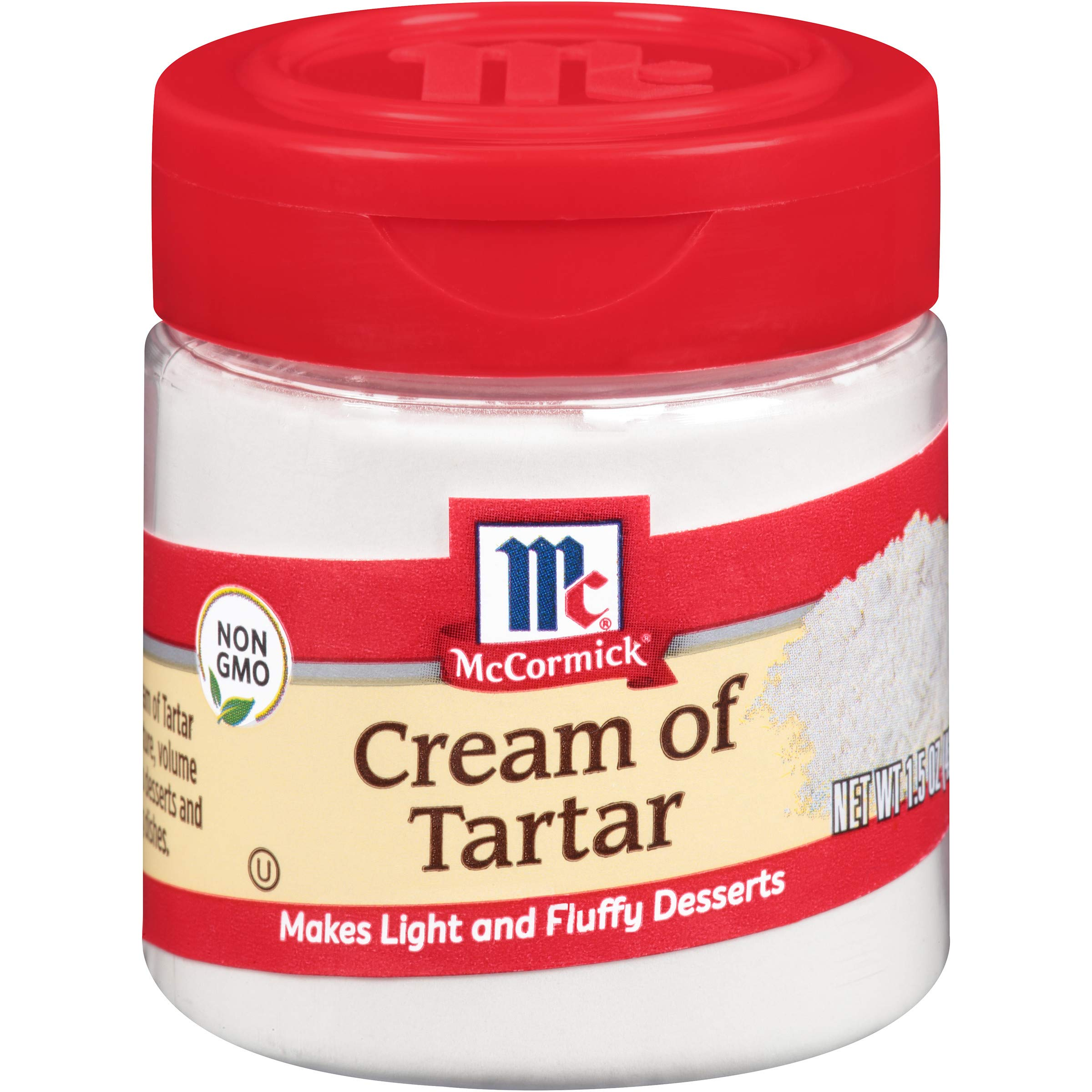 McCormick Cream Of Tartar, 1.5 Ounce (Pack of 6)