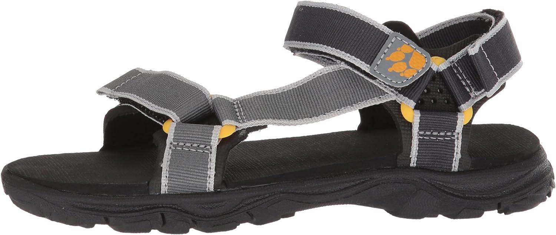 Jack Wolfskin Boys Seven SEAS 2 Sandal B Sport US Little Kids 12.5 M US Little Kid Burly Yellow xt