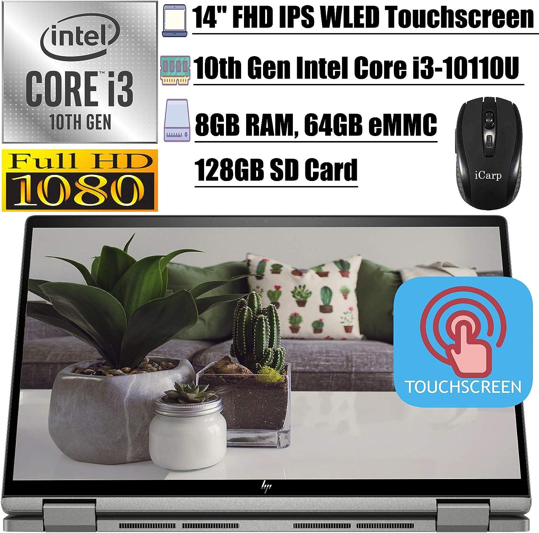 2020 Newest HP Chromebook x3602-in-1 Laptop14