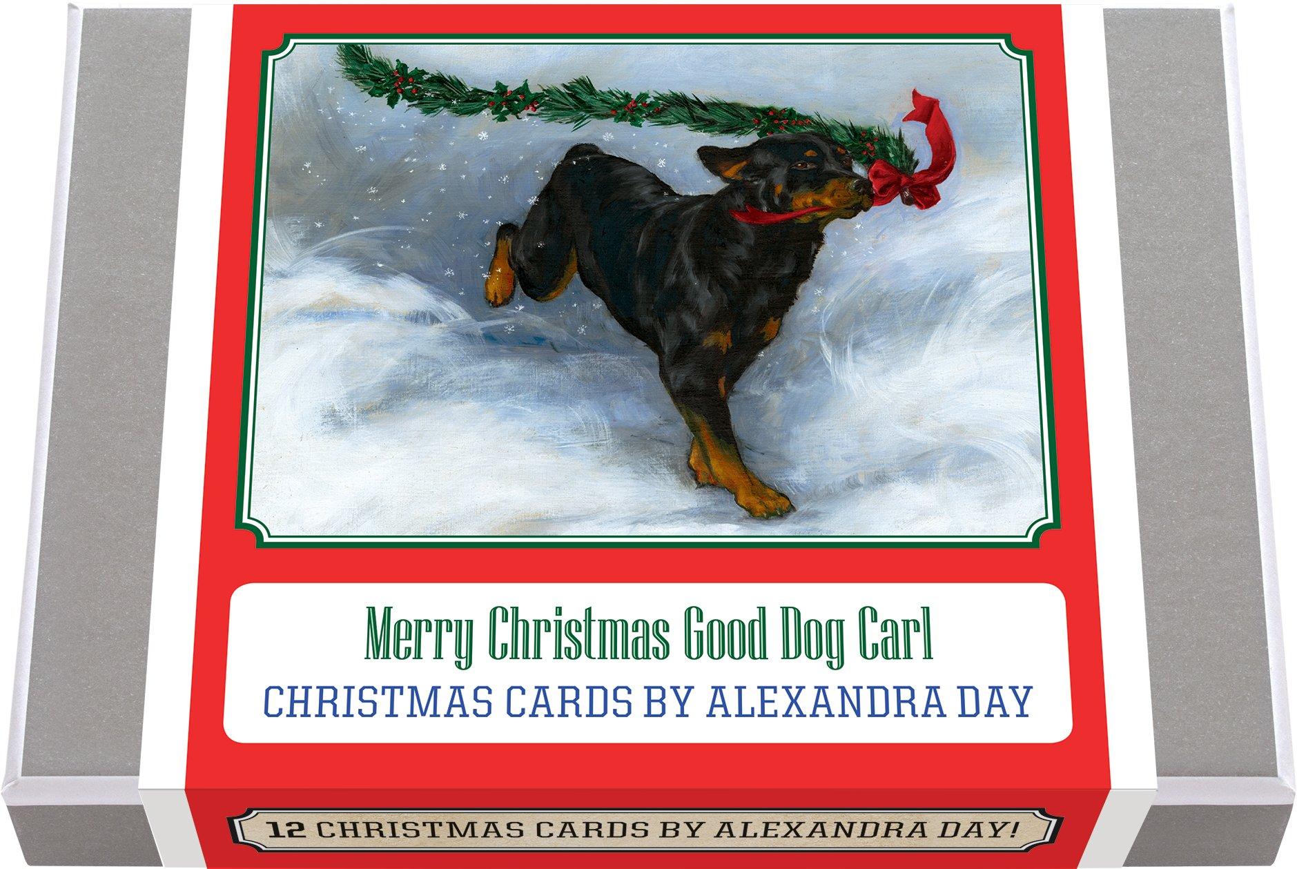 Merry Christmas Good Dog Carl - Christmas Cards by Alexandra Day ...