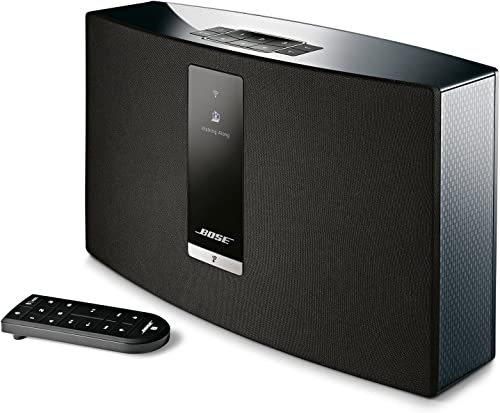 Bose SoundTouch 20 Series III Wireless Speaker – Black, Compatible with Alexa Renewed