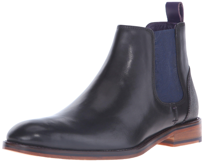 476ab923010e Mens Black Leather Chelsea Boots Top Deals   Lowest Price ...