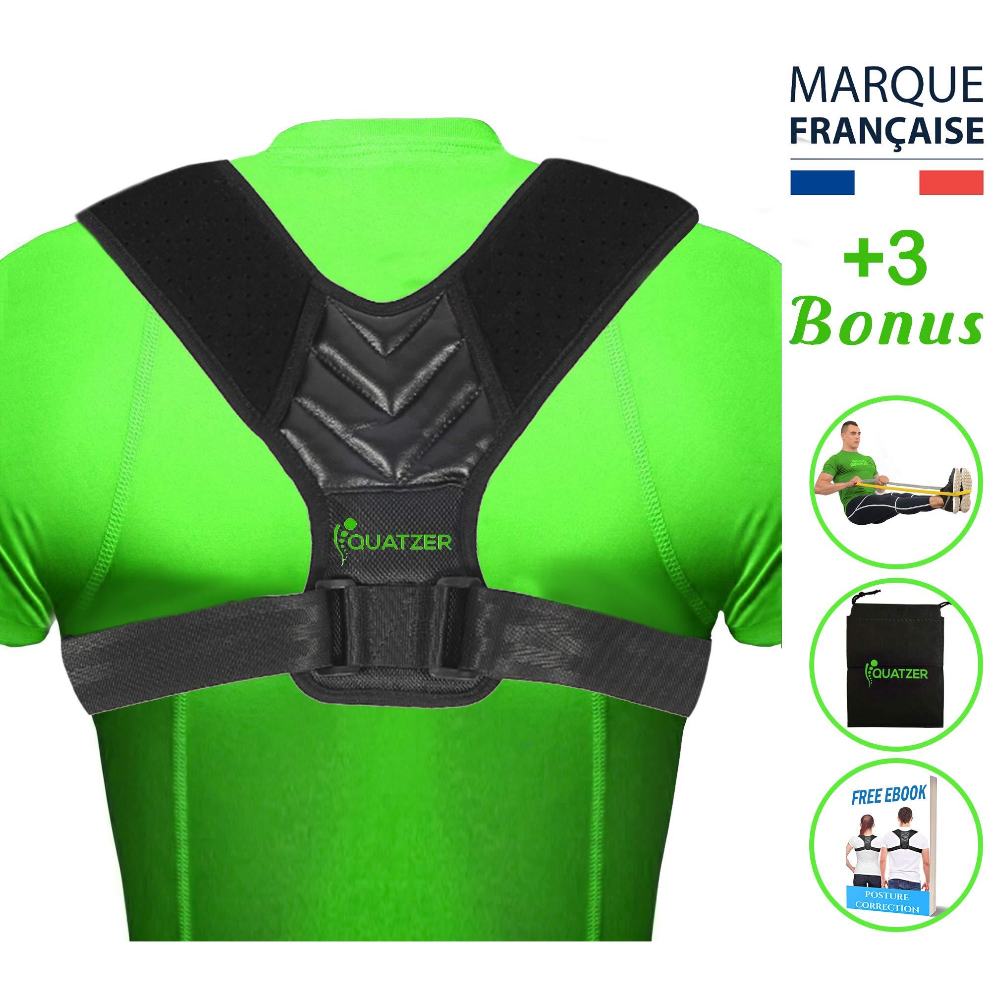 Correcteur de posture dos - Correcteur de posture léger et facile à porter