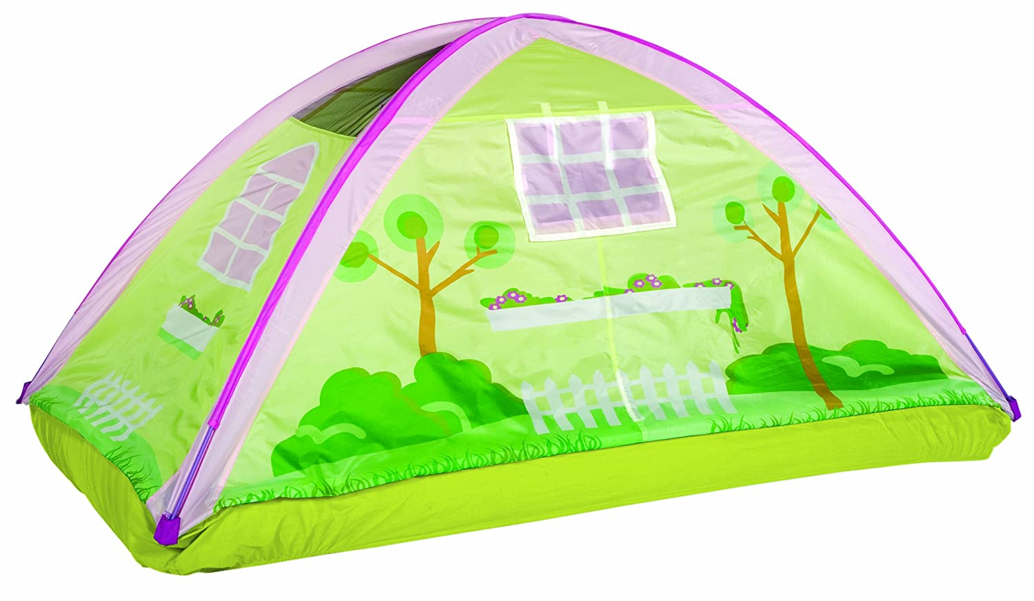Amazon.com Pacific Play Tents Kids Cottage Bed Tent Playhouse - Twin Size Toys u0026 Games  sc 1 st  Amazon.com & Amazon.com: Pacific Play Tents Kids Cottage Bed Tent Playhouse ...