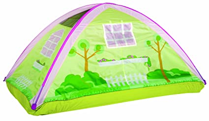 Pacific Play Tents Kids Cottage Bed Tent Playhouse - Twin Size  sc 1 st  Amazon.com & Amazon.com: Pacific Play Tents Kids Cottage Bed Tent Playhouse ...