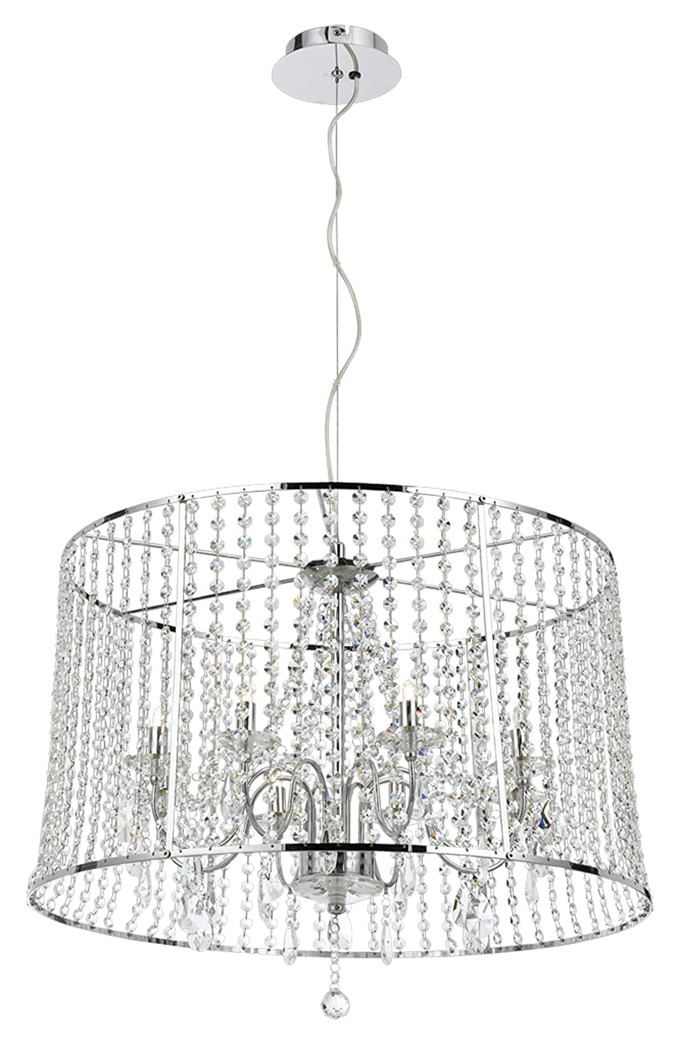 Amazon.com: Eurofase 19381 – 015 – Nayna 8-Light pendiente ...