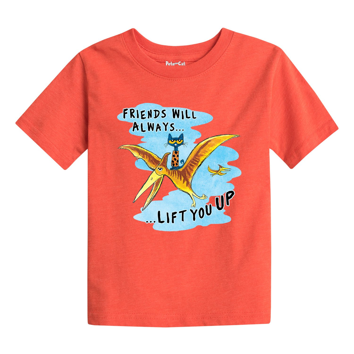 Pete the Cat Friends Lift You Up Toddler Short Sleeve Tee