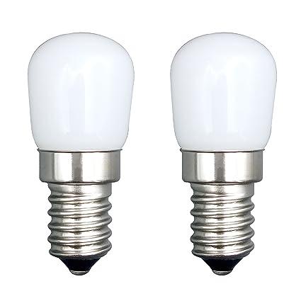 E14 Bulb 2 Pcs SFTlite E14 SES LED Bombilla Pigmeo 1.5W 120LM Bombilla Ahorro Energía
