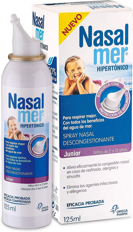 Nasalmer Bebes - Spray Contra la Congestión Nasal - Spray de ...