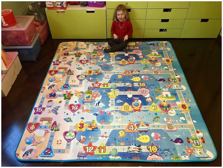 Tappeto Morbido Per Gattonare : Globolandia srl tappeto gioco amazon giochi e giocattoli