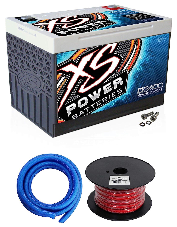 XS Power D3400 12V High Output Battery