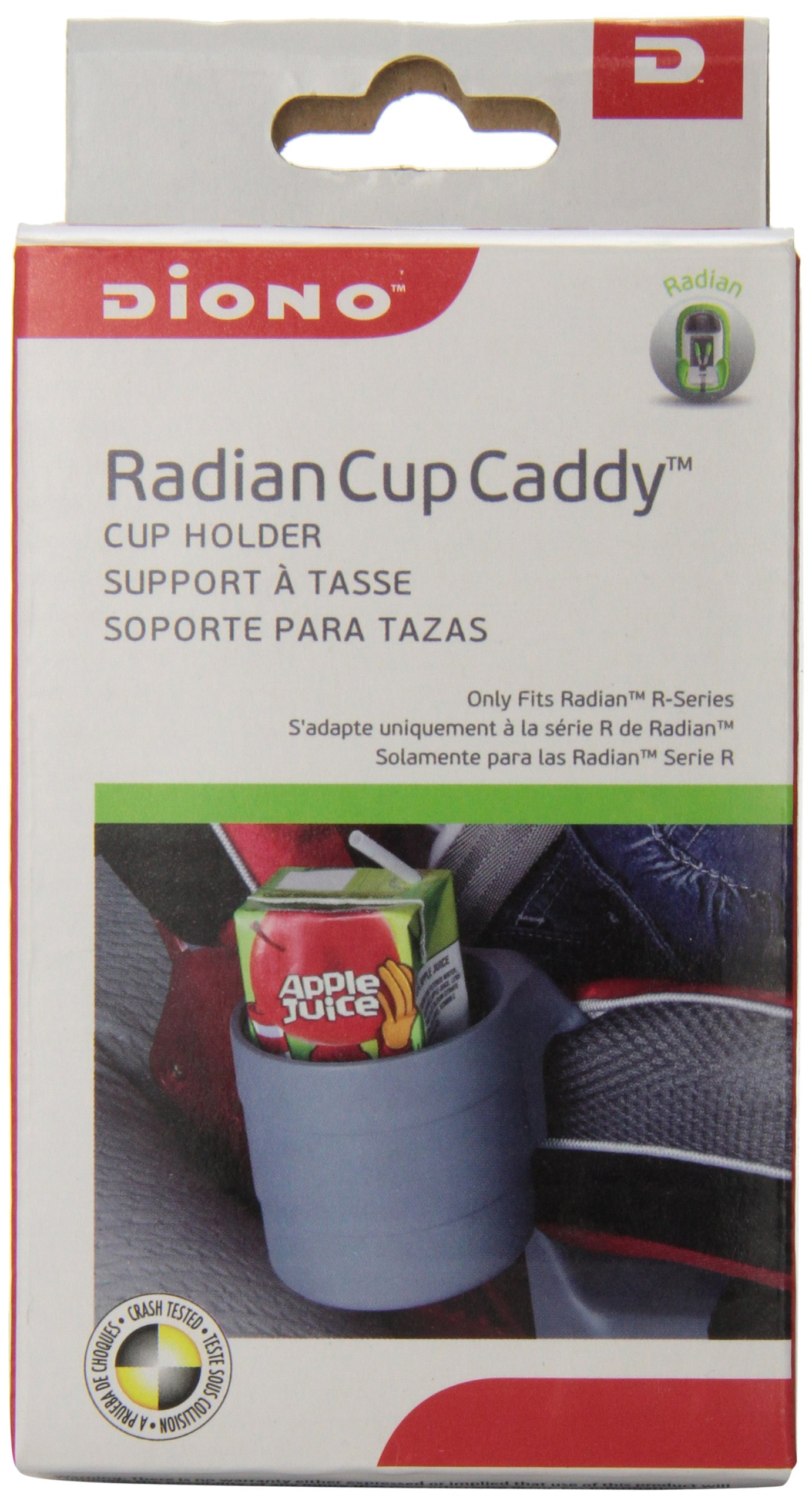 Diono Radian Cup Caddy Car Seat Grey 8