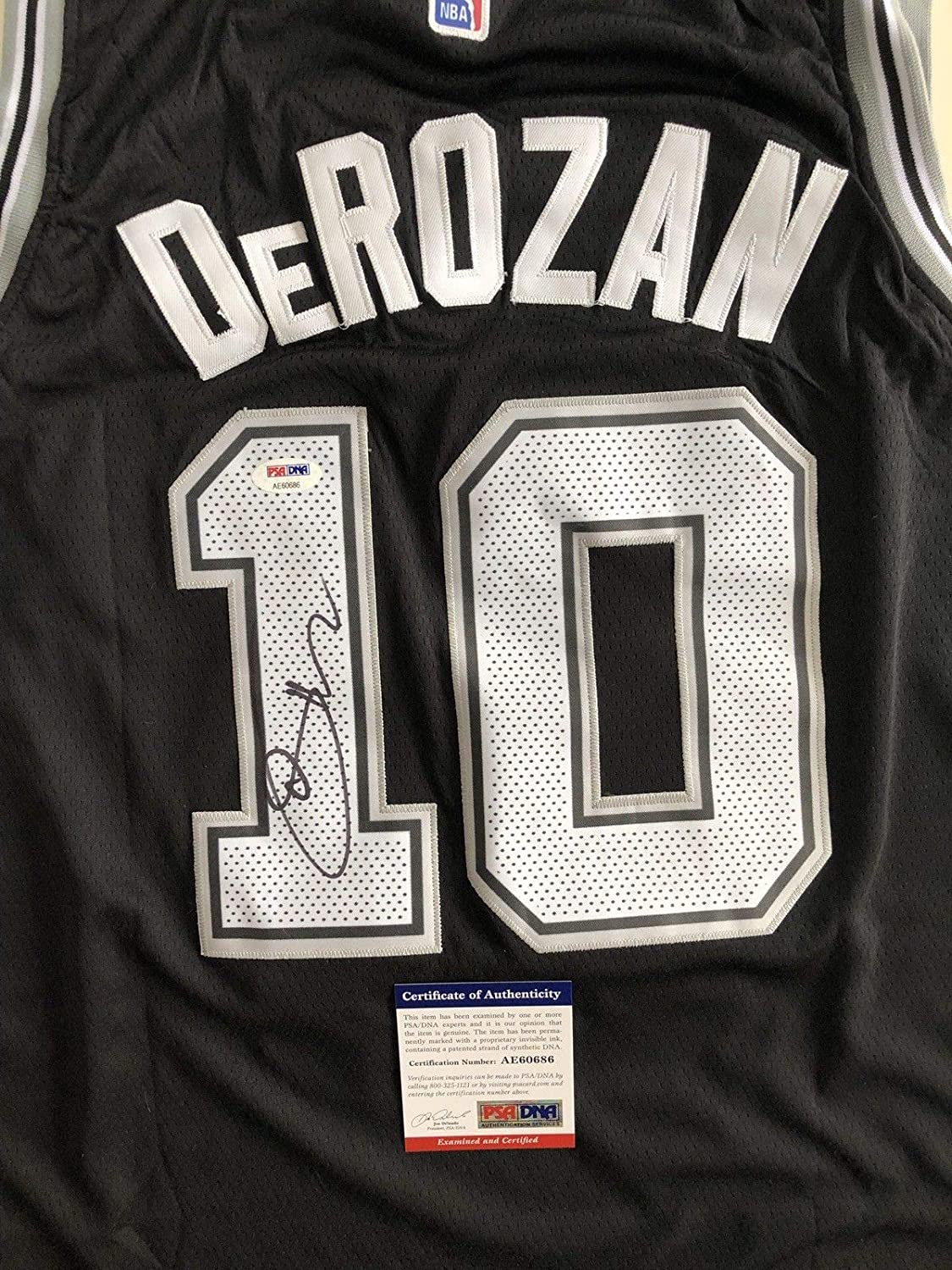 1d26d8f50 Demar Derozan Autographed Signed San Antonio Spurs Jersey Memorabilia PSA DNA  COA  10 Raptors Nba Rare at Amazon s Sports Collectibles Store