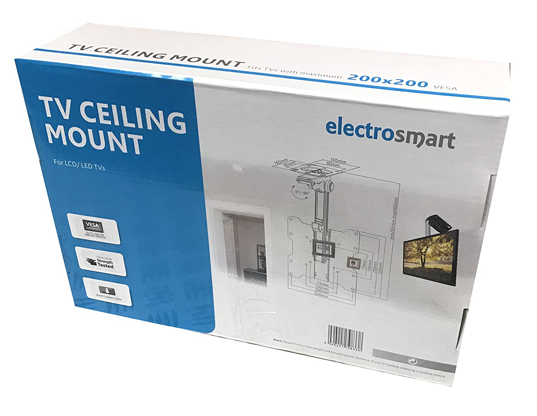 Under Cabinet / Sloping Ceiling TV Bracket Mount with: Amazon.co.uk ...