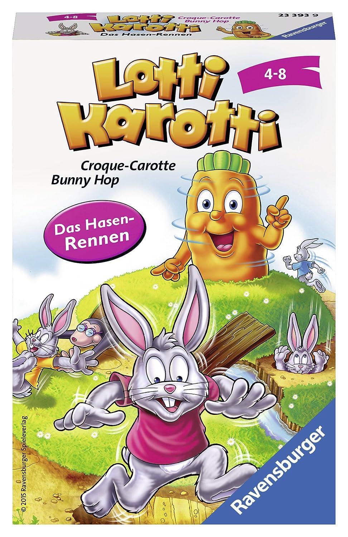 Ravensburger 23393 - Lotti Karotti - Kinderspiel/ Reisespiel Ian Steven Ravensburger Spielverlag 233939 Kinderspiele