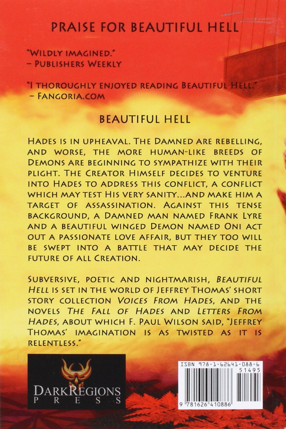 beautiful hell jeffrey thomas 9781626410886 amazon com books