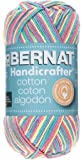 Bernat Handicrafter Cotton Yarn, Ombre, 12 Ounce, Rainbow