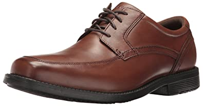 Mens Style Leader 2 Apron Toe Oxford, Truffle Tan, 10 W US Rockport