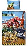 "Dinotrux ""Mechanix"" Single Duvet Set - Large Print Design"