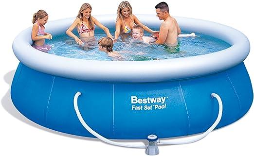 Bestway 8320025 Piscina Fast Set Redonda con Depuradora ø 366x91cm.: Amazon.es: Deportes y aire libre