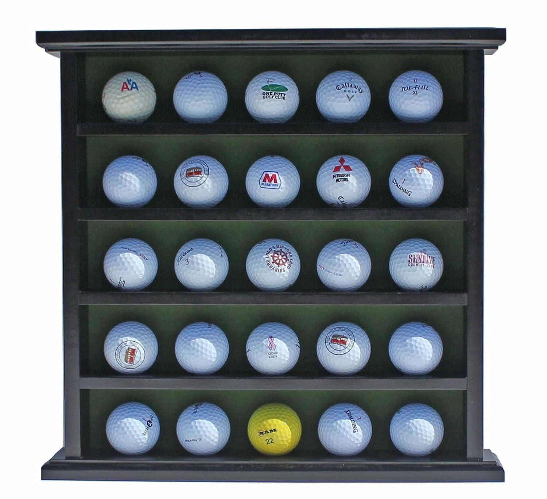 Amazon.com: Pelota de golf vitrina soporte, sin puerta, GB25 ...