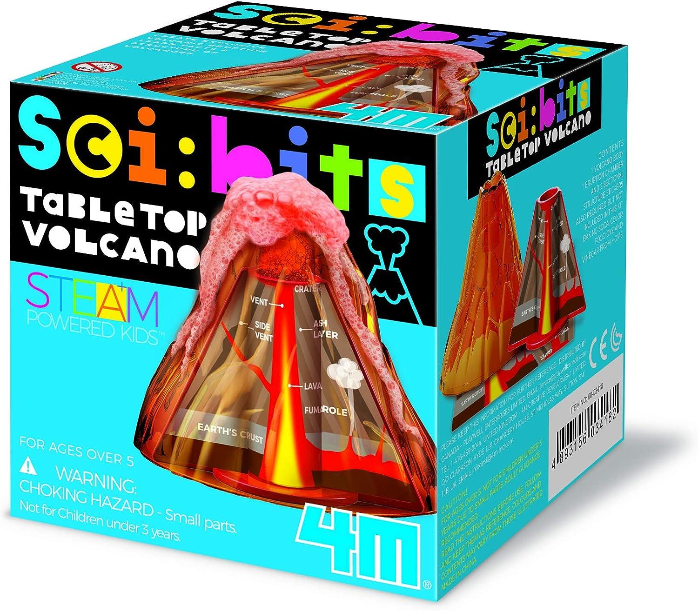 4M 403418 Sci: bits Volcán de Mesa, Multicolor: Amazon.es: Juguetes y juegos