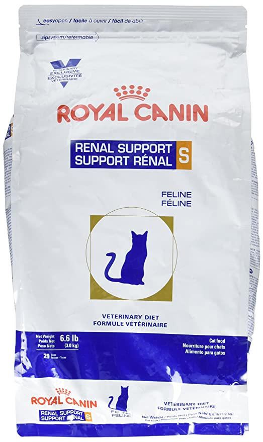 Amazon.com : ROYAL CANIN Feline Renal Support S Dry (6.6 lb) : Pet Supplies