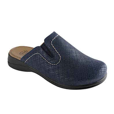 Scholl Comfort Plus New Toffee Blau 40: : Schuhe