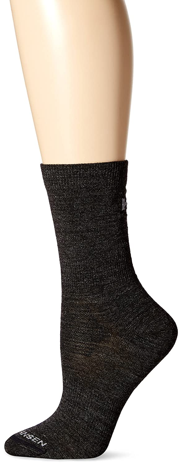 Helly Hansen Women's Hu Wool Liner Socks, Black/Melange, Size 39-41 68116