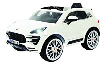 Amazon Com Rollplay 6 Volt Porsche Macan Ride On Toy Battery