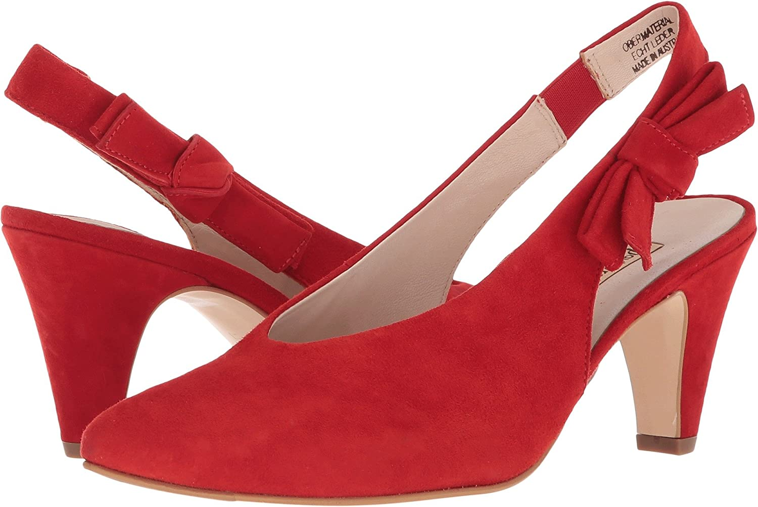 Paul Green Womens Regina B075RF6FQ3 9.5 B(M) US|Red Suede