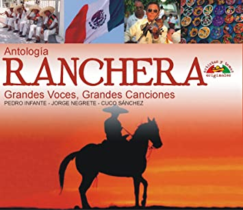 Amazon.com: Antologia Ranchera: Grandes Voces, Grandes ...