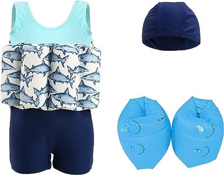 Amazon.com: Wowelife - Traje de baño flotante para bebé con ...