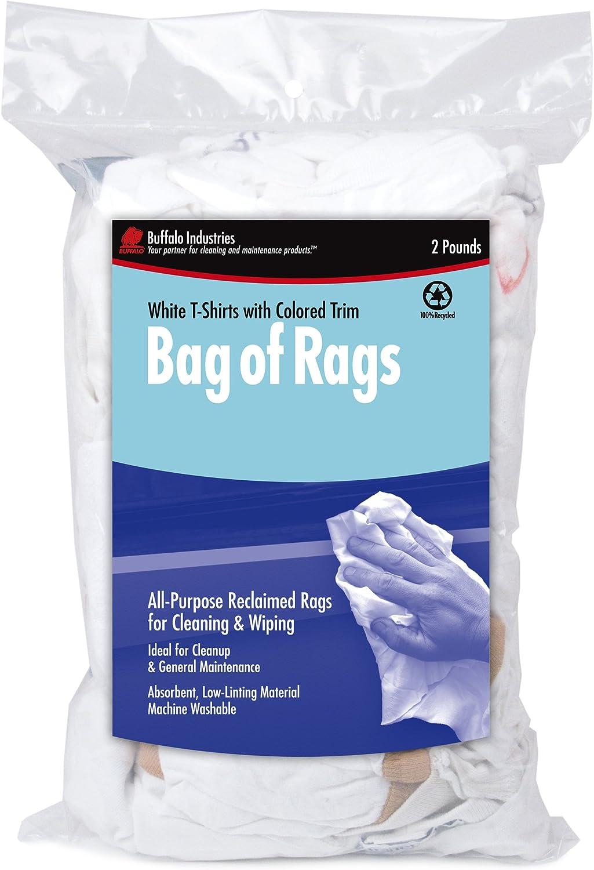 white tee shirt rags