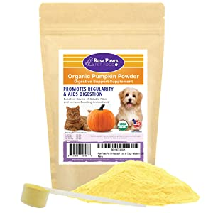 Raw Paws Pet Organic Pure Pumpkin for Dogs & Cat