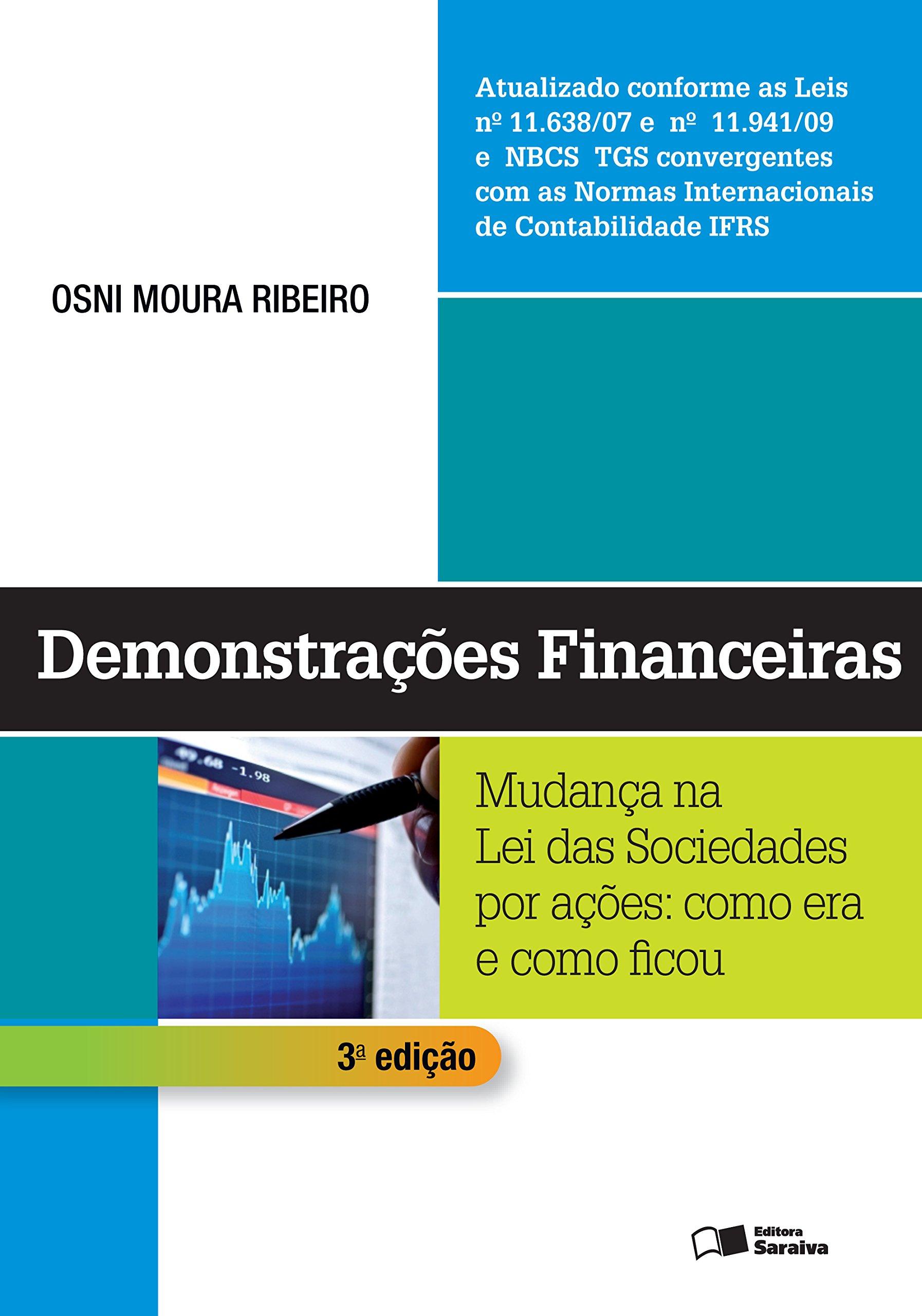 Demonstracoes Financeiras: Mudanca na Lei das Sociedades Por Acoes: Como Era e Como Ficou PDF