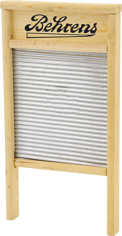Behrens Manufacturing Behrens BWBG12 Galvanized Washboard, Large, Silver