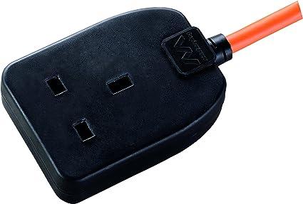 10 M-PRO ELEC IP54 Secteur Extension Lead avec Outdoor 1-Gang Socket