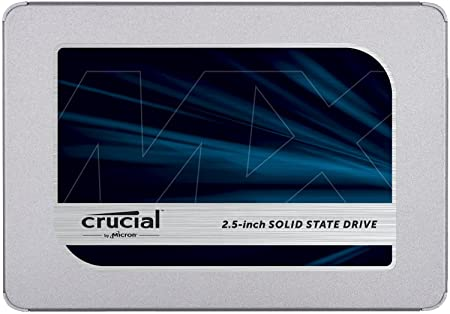 Crucial MX500 500GB SATA 6.0Gb/s 2.5-inch 7mm Internal SSD (CT500MX500SSD1) Internal Solid State Drives at amazon