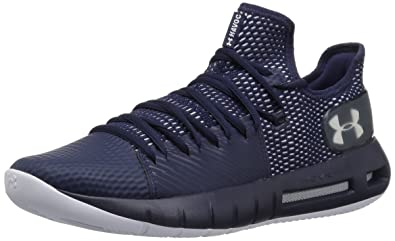 f9f2b1e6575 Under Armour Men s Drive 5 Low Basketball Shoe Midnight Navy (400) White 7