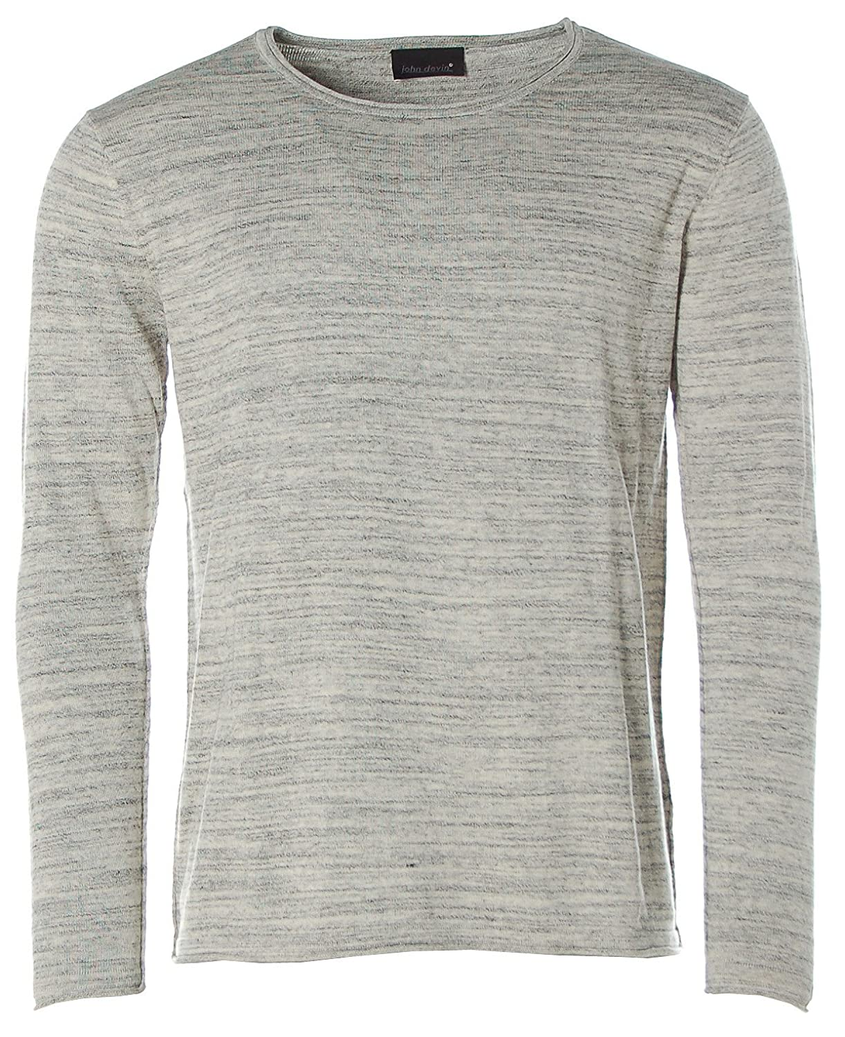 John Devin Men's Crew Neck Long Sleeve Jumper
