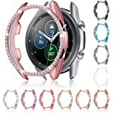 11 Pieces Watch Case Protector Compatible with Samsung Galaxy Watch 3, 41mm, Christmas Bling Crystal Rhinestone Watch Cover P