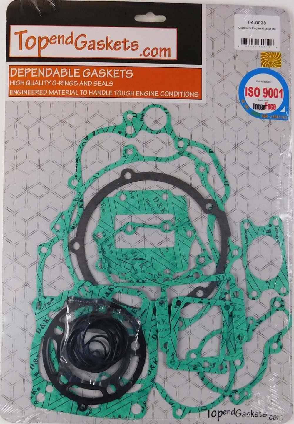2001-2002 Kawasaki KX125 Dirt Bike Winderosa Engine Oil Seal Kit