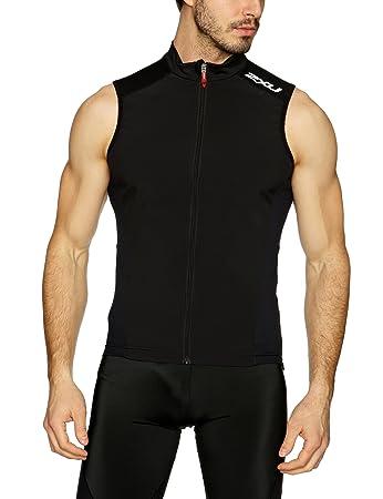 2XU Men s Intermediate Cycle Vest Cycling Gilet  Amazon.co.uk ... d5f07c104