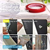 Corner Guards Child Safety, Furniture Clear Toddler Edge Protectors Soft Silicone Bumper Strip Baby Proofing 20ft(6m) with Double-Sided Tape for Cabinets,Tables,Household Appliances,etc