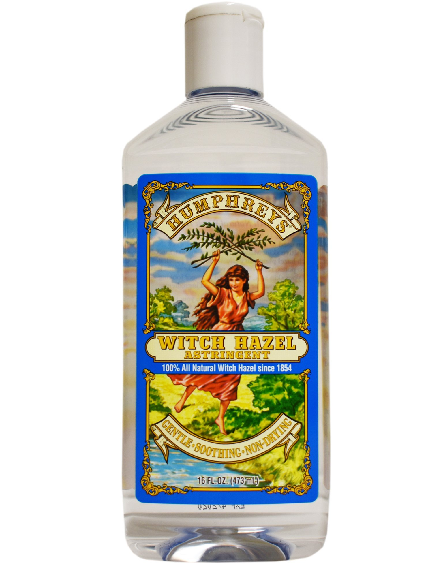 Humphrey's Witch Hazel Astringent 100% All Natural Witch Hazel 16 Ounce by Humphrey's