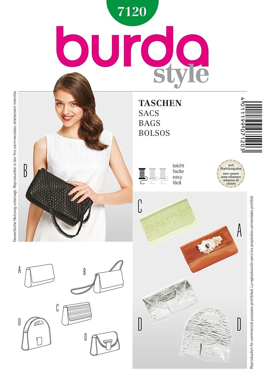 Burda Pattern Evening Clutch Bag B7120