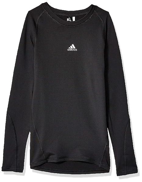 Bambini Ragazzi Adidas manica lunga T Shirt Top