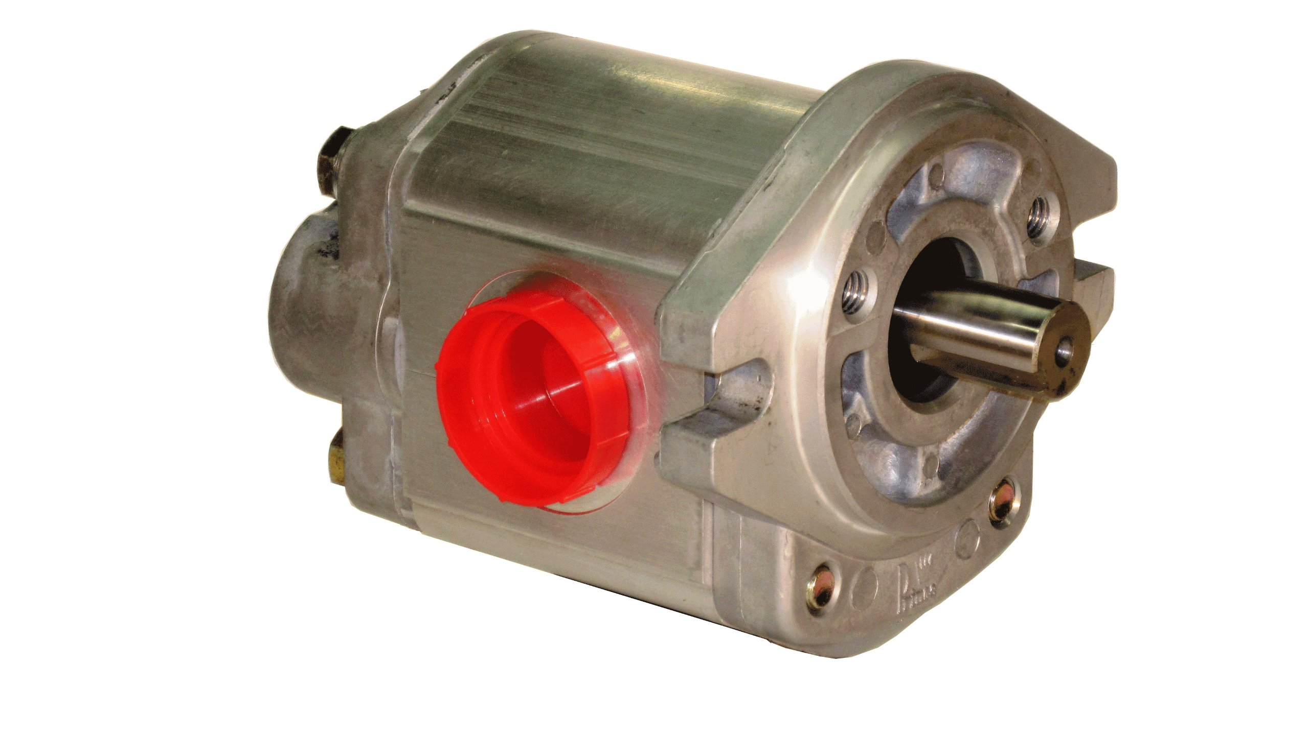 Prince Manufacturing SP20B06A9H2-R Hydraulic Gear Pump, 14.80 HP Motor, 3000 PSI Maximum Pressure, 6.92 GPM Maximum Flow Rate, Clockwise Rotation, Self-Lubricating, SAE A Flange, Aluminum