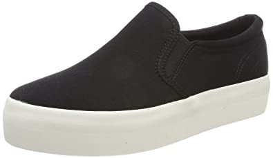 Womens Peggy Slip on Trainers, Black Vagabond